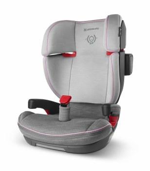 Uppababy - Alta Booster Car Seat - Sasha (Grey Melange/Pink Accent)
