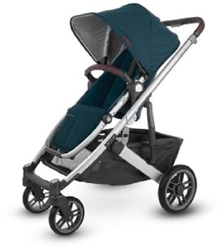 Uppababy - 2020 Cruz V2 Stroller - Finn (Deep Sea) *Pre-Order for February 2020*
