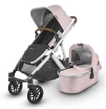 Uppababy - 2020 Vista V2 Stroller - Alice (Dusty Pink)
