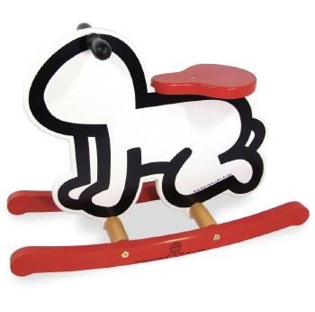 Vilac - Keith Haring Rocker - Red/White