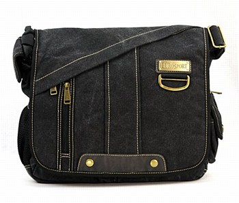 Black All-In-One Shoulder Bag