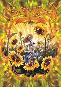 "24"" x 36"" Grateful Dead Grower Rolled Poster"