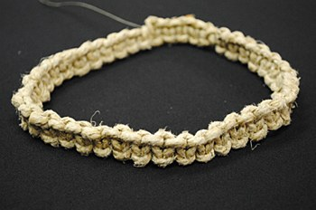Adjustable Thick Hemp Necklace