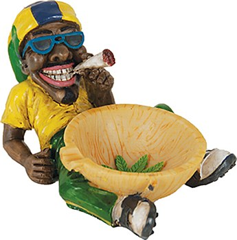 Jamaican Smoking Ashtray