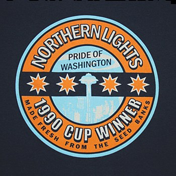 Northern Lights T-Shirt Small