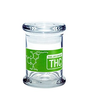 420 Science Pop Top Stash Jar Small THC