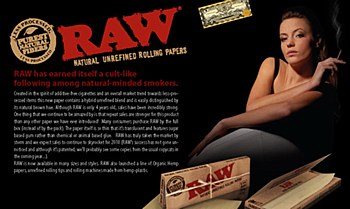 Raw 1.0 Rolling Papers