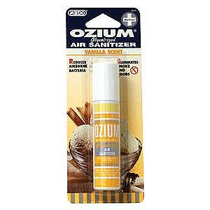 Ozium 0.8oz Vanilla Scent Spray