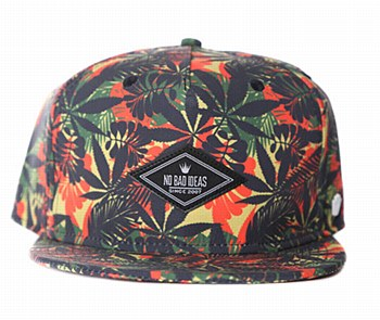 Jungle Leaf Stash Hat