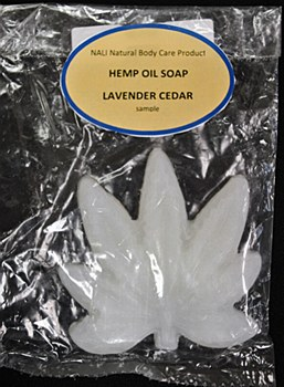 Lavender Cedar Hemp Oil Soap