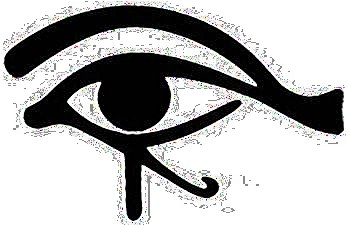Egyptian Eye Black Sticker