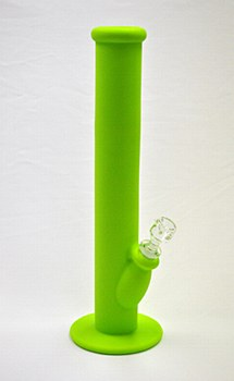 Silicone Water Pipe Green