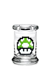 420 Science Pop Top Large Jar 1-Up Mushroom