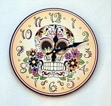 Day of Dead Clock