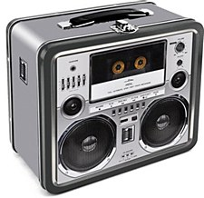 Boom Box Lunch Box