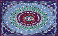 Grateful Dead Dancing Bears Tapestry