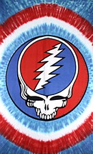 Grateful Dead Steal Your Face Red, White & Blue Tapestry