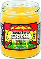 13oz Smoke Exterminator Candle Rasta Love
