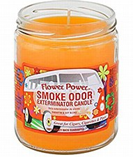 13oz Smoke Exterminator Candle Flower Power