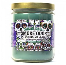 13oz Smoke Exterminator Candle Sugar Skull
