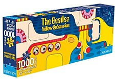 1,000 Piece Beatles Yellow Submarine Jigsaw Puzzle