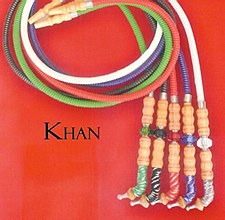 6' Long Khan Green Hookah Hose