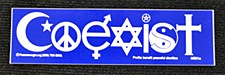Coexist Small Sticker