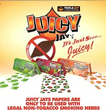 Juicy Jay's 1 1/4 Peaches & Cream Rolling Papers