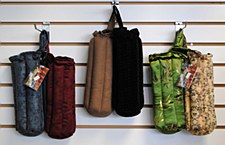 "10"" Zipper & Drawstring Pipe Pouch"