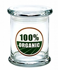420 Science Pop Top Large Jar 100% Organic