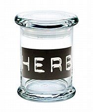420 Science Pop Top Stash Jar Medium HERB