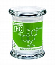 420 Science Pop Top Stash Jar Medium THC