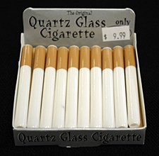 Large Quartz Glass CIgarette Bat