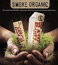 Raw Organic Hemp 1 1/4 Rolling Papers 300 pack
