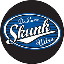 "3"" Round Skunk Deluxe Sticker"