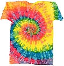 Tie Dye T-Shirt Saturn Medium