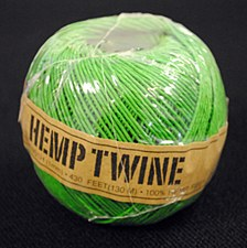 20lb Test Green Hemp Twine