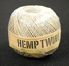 20lb Test Natural Hemp Twine