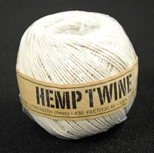 20lb Test White Hemp Twine