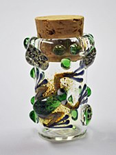 "4"" Tall Frog Stash Jar"