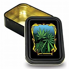 Bug Box Sealed Leaf Stash Tin