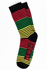 Rasta Striped Socks