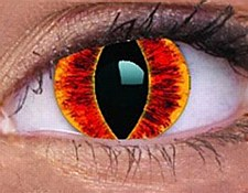Sauron's Eye Contact Lens