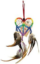 Love and Peace Dream Catcher