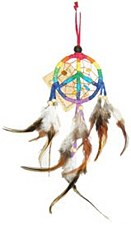 Peace Symbol Dream Catcher