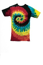 Tie Dye Medium T-Shirt Eclipse Spiral