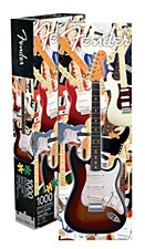 1,000 Piece Fender Guitar Jigsaw Puzzle