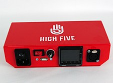 High5 LCD Display E Nail Red with 20mm Coil