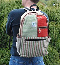 100% Hemp Back Pack