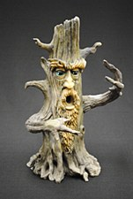 Tower Tree Man Incense Burner